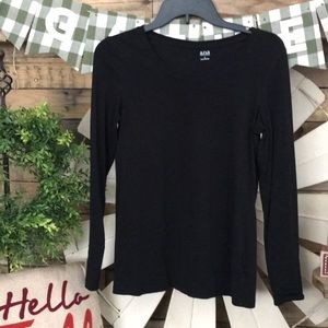 🍁Black long sleeve shirt